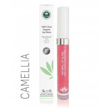 PHB 100% Pure Organic Lip Gloss - Camellia