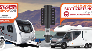 Get your tickets for the Motorhome and Caravan Show 2015