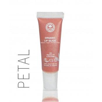 PHB 100% Pure Organic Lip Glaze - Petal