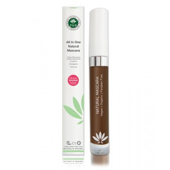 PHB All in One Natural Mascara - Brown