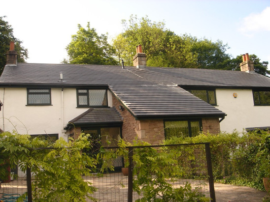 Re-roofing at Pleasington