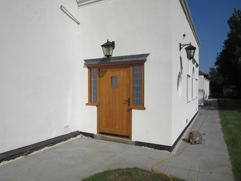 Solid Oak Winglit Door
