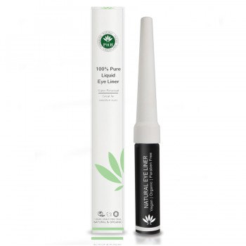 PHB 100% Pure Liquid Eyeliner - Black