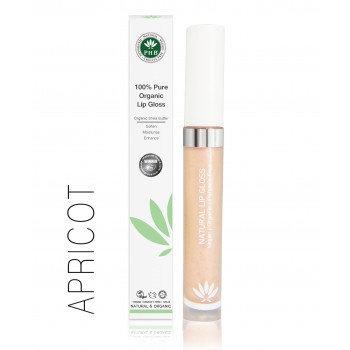 PHB 100% Pure Organic Lip Gloss - Apricot