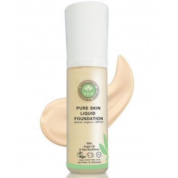 Pure Skin Organic Liquid Foundation - Cream