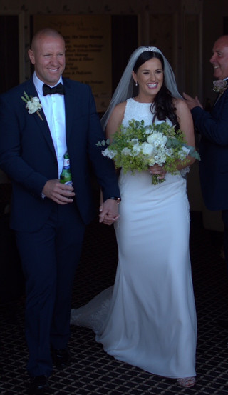 I just wanted to say a massive Thankyou for my dress! I felt absolutely beautiful in it, it fit perfectly and everyone complimented me on the dress. It will be quite a wait for professional photos but I just wanted to give you a sneak preview!  Thank again Mrs Jenna Doyle!