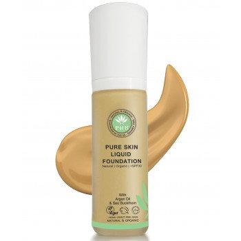 Pure Skin Organic Liquid Foundation - Tan