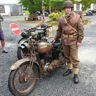 1943 BSA M20