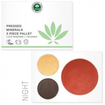 Pressed Mineral 3 Piece Palette - Night