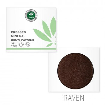 Pressed Mineral Brow Powder - Raven