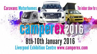 Camperex Show Liverpool 2016 A&E LEISURE