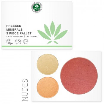 Pressed Mineral 3 Piece Palette - Nudes