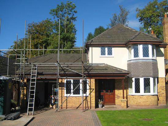 Removal of Roof at Bradyl Court