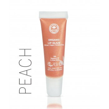 PHB 100% Pure Organic Lip Glaze - Peach