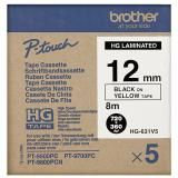 Brother HG-631V5 P-touch High Grade Tape