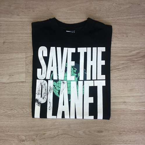 Planet Hollywood 'SaveThe Planet' Tee - Black -XL