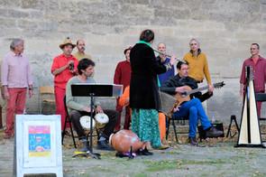 Concert Jardin de l'évêché - Uzès - 10.10.2020