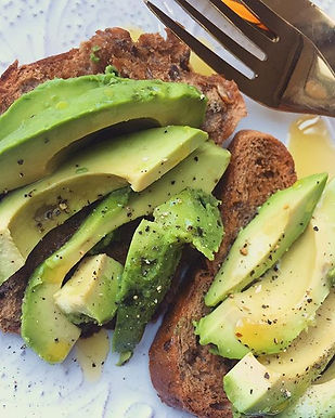 Starting my day the right way avocado on