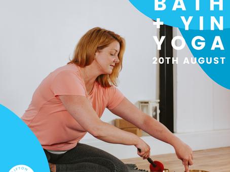 Yin Yoga with Yoga Nidra & Sound Bath