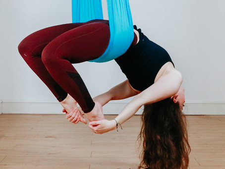 Aerial Yoga for Beginners!