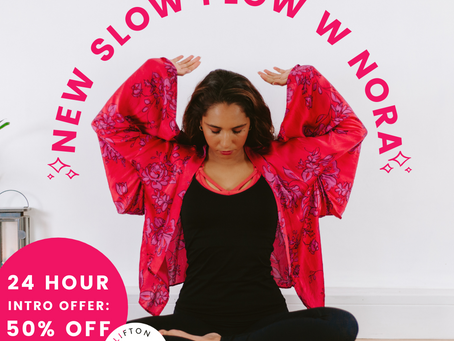 Slow Flow with Nora!
