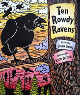 Ten Rowdy Ravens Book