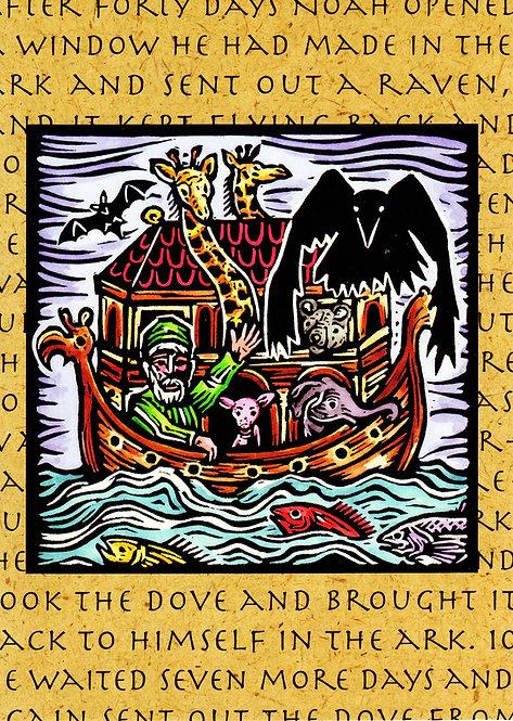 Noah's Raven | notecard