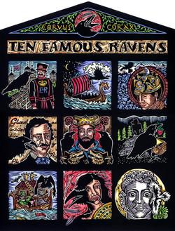 Ten Famous Ravens