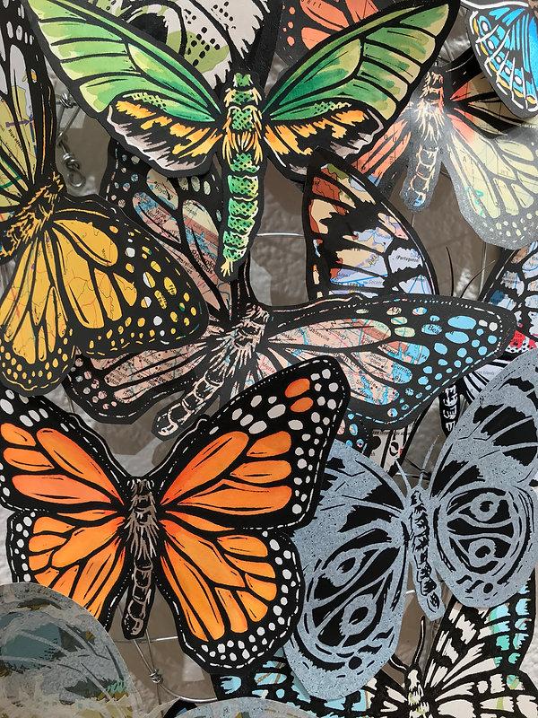 Butterflies Detail