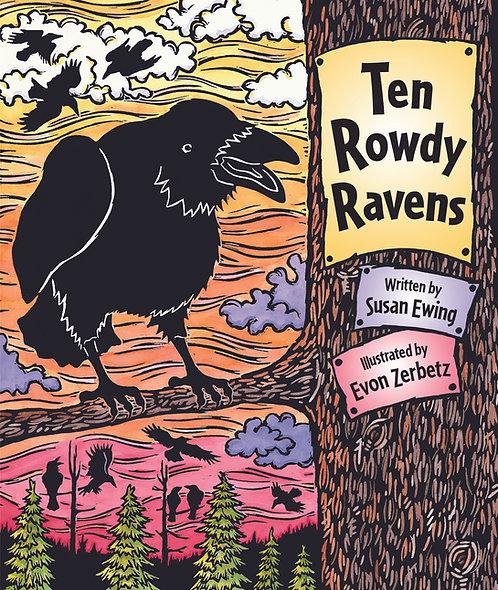 Ten Rowdy Ravens  Softbound