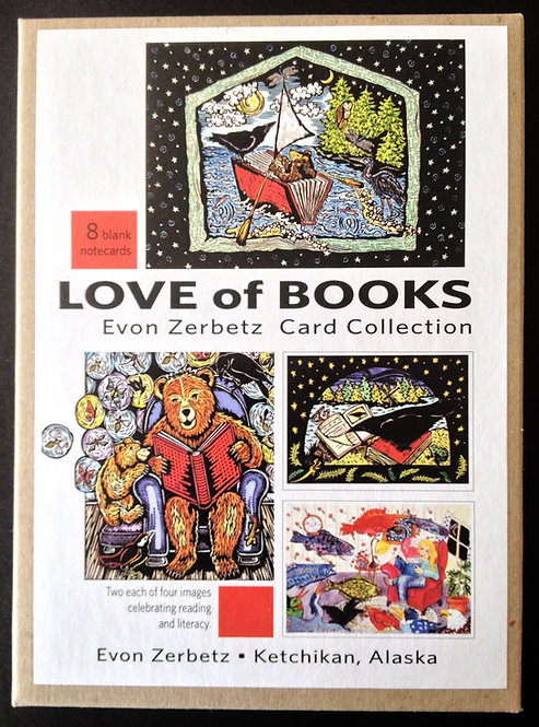 Love of Books | Card Collection