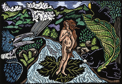 Birth of Ketchikan Creek