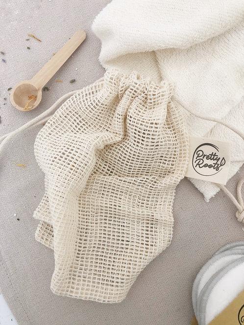 Small Net Drawstring Bag