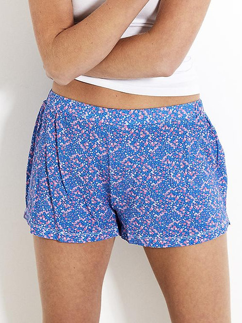 Stripe &  Stare Forget-Me-Not Bed Shorts