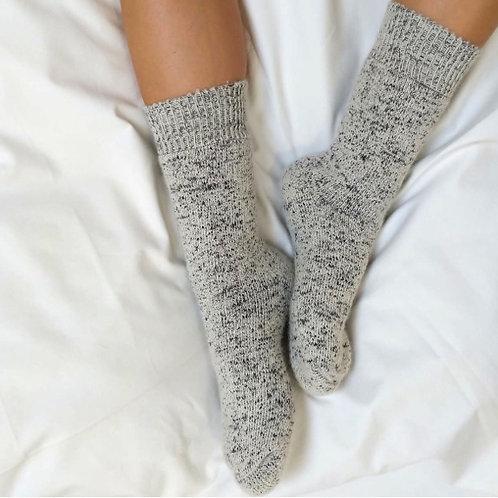 Tom Lane Thick Alpaca Fleck Socks