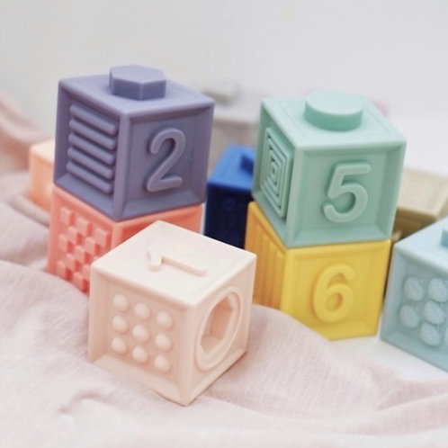 Blossom & Bear Silicone Number Blocks