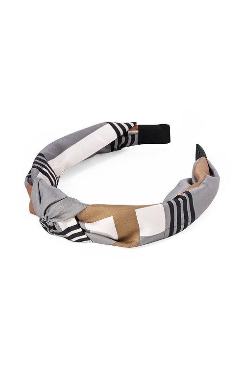 Tutti & Co. Check Headband