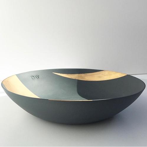 Blue & Gold Display Bowl
