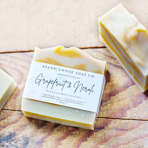Grapefruit & Neroli Soap