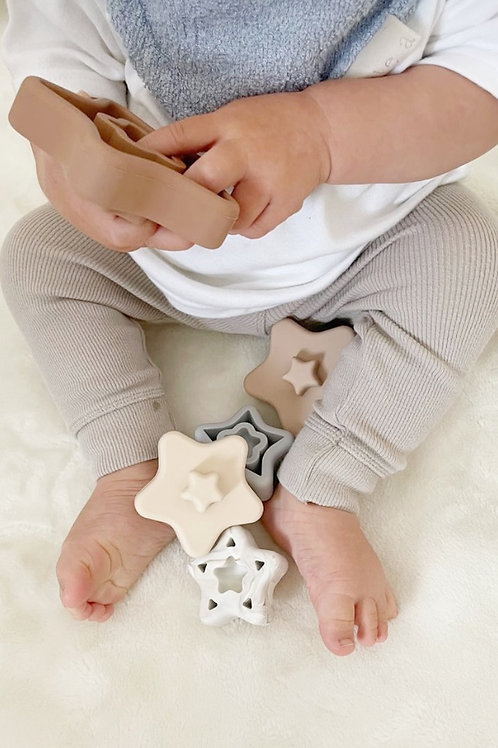 Blossom & Bear Star Stacking Toy