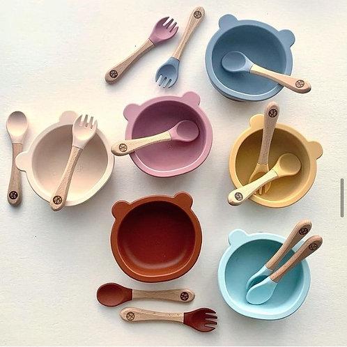 Blossom & Bear Dinnertime Set