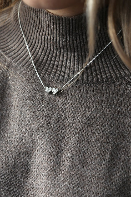 Tutti & Co. Heartbeat Necklace