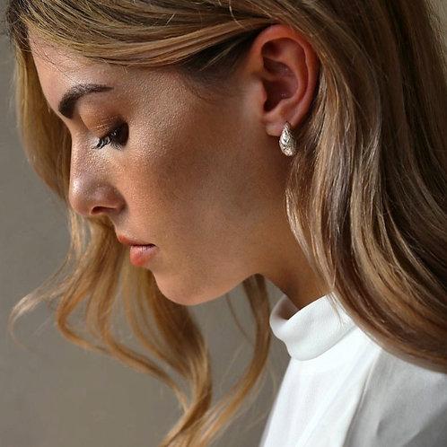 Tutti & Co. Dome Earrings