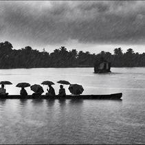 La mousson en Inde