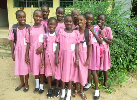 TAMKin opiskelijat Gambiassa 2019
