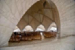 Templo de Lótus, Vista Interior