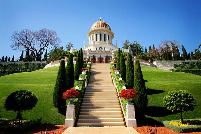 Santuário de O Báb no Monte Carmelo, Haifa (Israel)