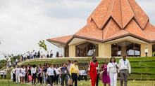 A inauguração do Templo Bahá'í da Colômbia foi uma cerimónia de alegria e emoção