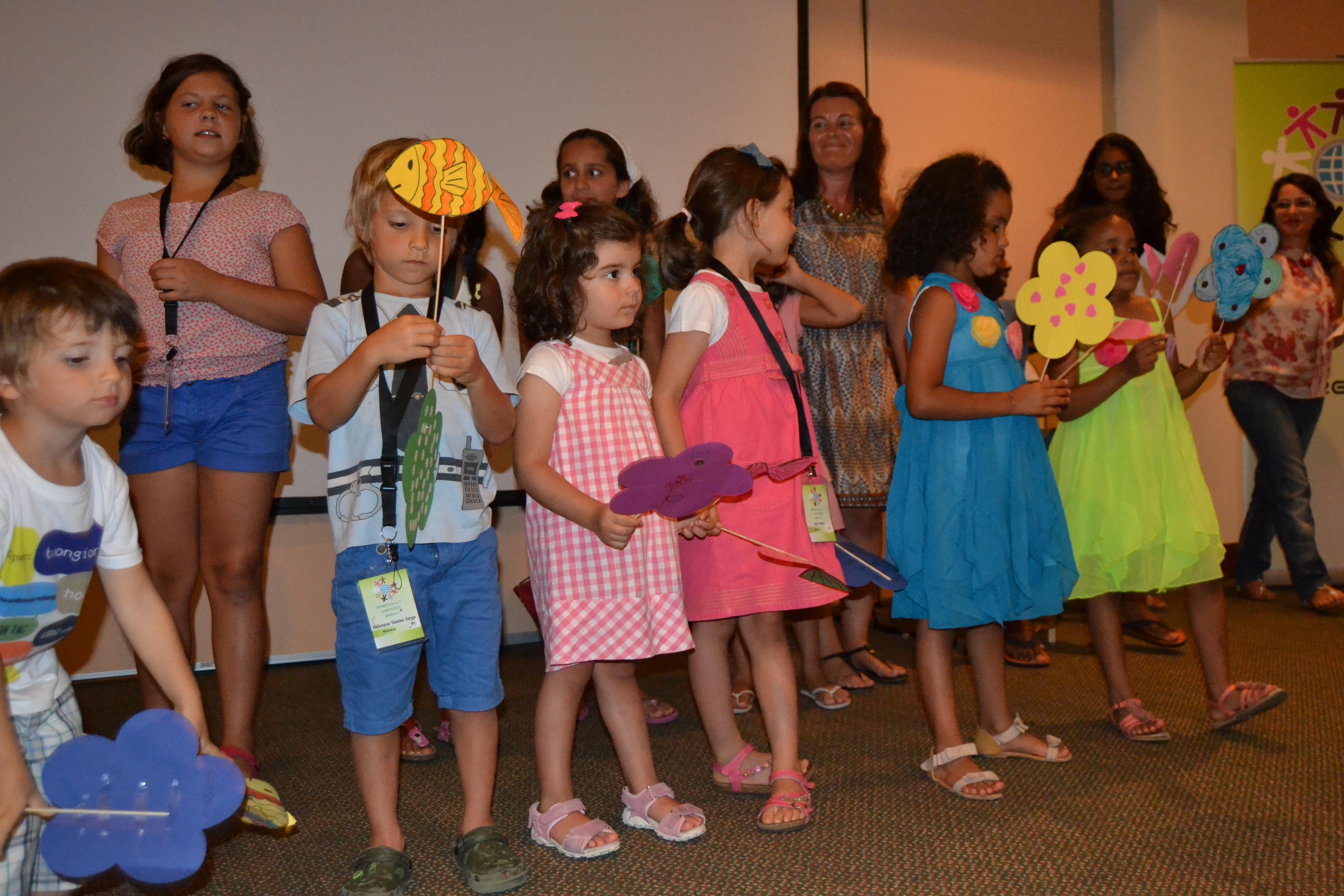 Aula para Crianças - Escola de Verão