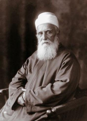 Retrato fotográfico de 'Abdu'l-Bahá